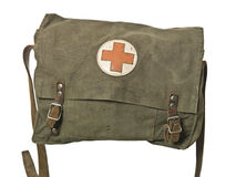 Retro First Aid Bag Royalty Free Stock Photography