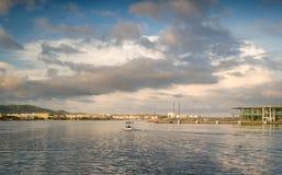 Retro fishing boat Royalty Free Stock Photos