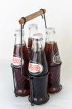 Retro- Flaschen von Pepsi-Cola lizenzfreie stockfotografie
