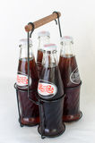Retro flaskor av Pepsi Cola Royaltyfri Fotografi