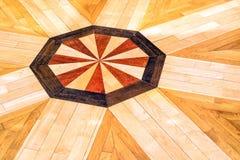 Retro floor parquet Stock Images