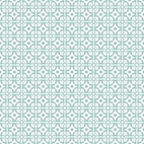 Retro Floor Tiles pattern. Floor tiles - seamless vintage pattern with quatrefoils. Seamless vector background. Plain colors - easy to recolor Stock Photo