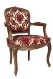 Retro floral armchair Royalty Free Stock Image