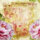 Retro floral background Stock Photos