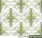 retro floral ornament,pattern Stock Photography