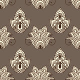 Retro floral ornament seamless background.Vector Royalty Free Stock Photos