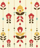 Retro floral Pattern Stock Image