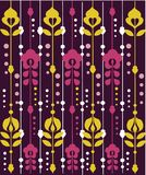 Retro floral Pattern. Illustration Royalty Free Stock Photography