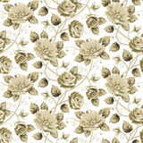 Retro floral pattern Stock Photography