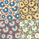 Retro floral pattern Royalty Free Stock Photos