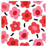 Retro floral pattern Stock Photos