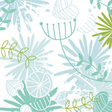 Retro floral pattern background Royalty Free Stock Images