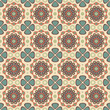 Retro floral pattern Royalty Free Stock Image