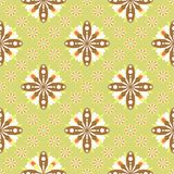 Retro Floral Pattern SEAMLESS Royalty Free Stock Photos