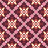 Retro Floral Pattern SEAMLESS Stock Photography