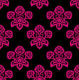 Retro floral pattern, seamless,  Stock Images