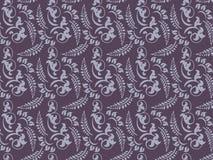 Retro floral patterns. Illustration of retro floral patterns Vector Illustration