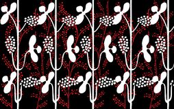 Retro floral seamless background Royalty Free Stock Images
