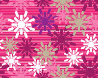 Retro floral seamless background. Colored and modern Retro floral seamless background Royalty Free Stock Photo