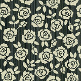 Retro floral seamless background with roses Royalty Free Stock Photos