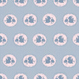 Retro floral seamless pattern Royalty Free Stock Photos
