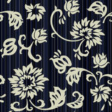 Retro floral seamless - wallpaper Royalty Free Stock Photos