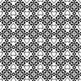 Retro floral seamless wallpaper Stock Photo