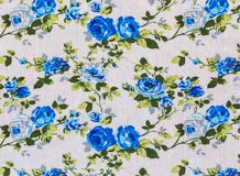 Retro Floral Textile Royalty Free Stock Image