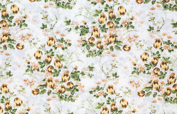 Retro Floral Textile Royalty Free Stock Images