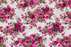 Retro Floral Textile Royalty Free Stock Photography