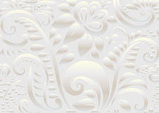 Retro floral wallpaper. Seamless Royalty Free Stock Photography