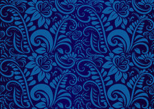 Retro floral wallpaper. Seamless Stock Photography