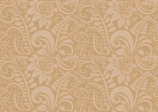Retro floral wallpaper. Seamless Royalty Free Stock Images