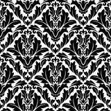 Retro flourish seamless pattern Royalty Free Stock Photo