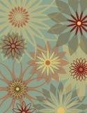 Retro Flower Background Stock Images