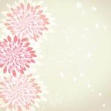 Retro flower background royalty free illustration