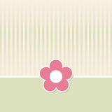 Retro Flower Background Stock Images