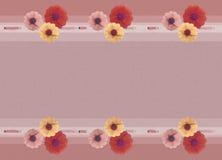 Retro flower background Stock Image