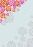 Retro flower background Royalty Free Stock Photos