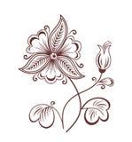 Retro flower Royalty Free Stock Photo