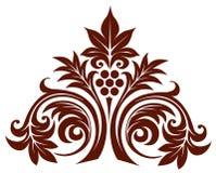 Retro flower pattern Stock Image