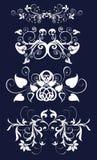 Retro flower pattern Royalty Free Stock Photography