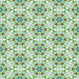 Retro flower pattern Royalty Free Stock Image