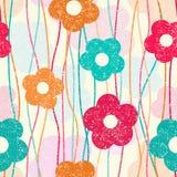 Retro Flower Pattern Royalty Free Stock Photos