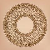 Retro flower pattern. Vector-Illustration-Drawing Royalty Free Stock Image