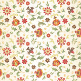 Retro flower seamless Royalty Free Stock Photo