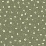 Retro flower seamless background design in vector Stock Image