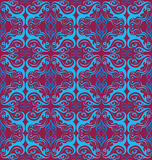 Retro flower seamless pattern Royalty Free Stock Images