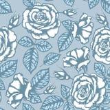 Retro flower seamless pattern Stock Images