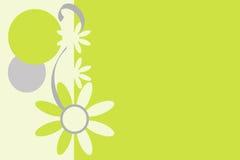 Retro Flowered Background. Stock Image